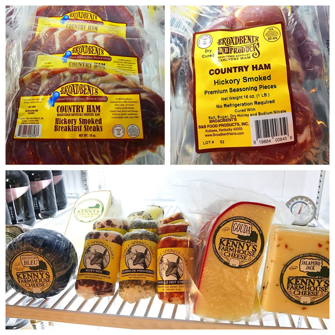 Locally-sourced products to go